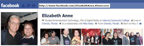 Elizabeth Anne at Facebook