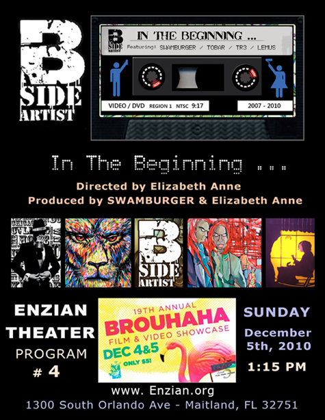 B-Side Artists: In The Beginning - short documentary by Elizabeth Anne