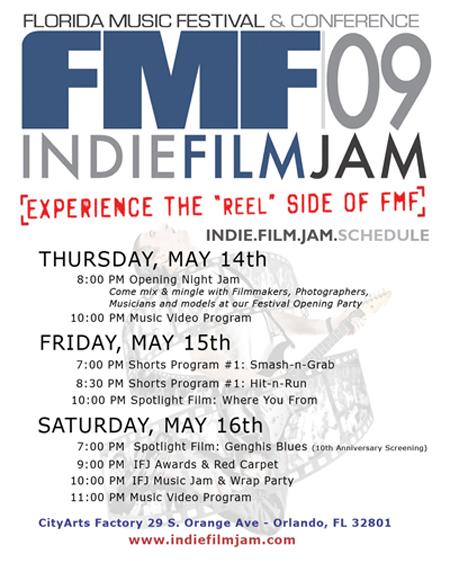 2009 FL Music Fest Indie Film Jam