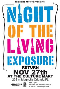 B-Side Artists Night of the Living Exposure #2